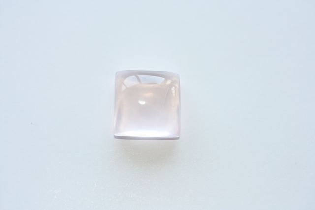 Quartz rose - Carré 5.745 ct