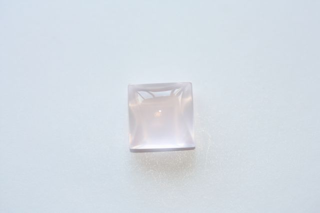 Quartz rose - Carré 5.405 ct