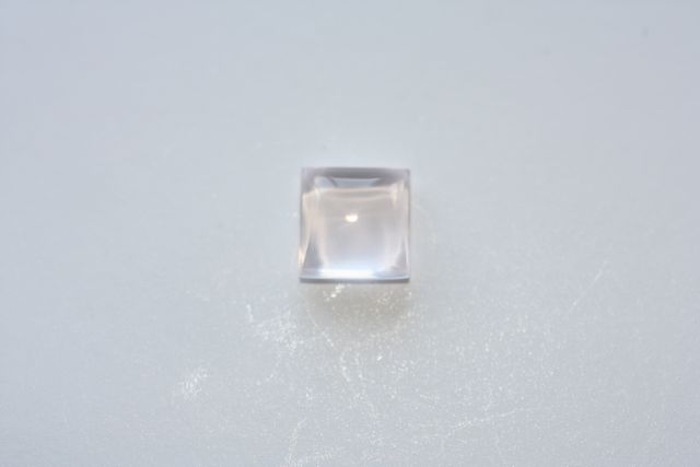 Quartz rose - Carré 1.22 ct