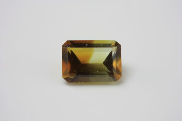 Polychrome citrine - Rectangle 0.80 ct