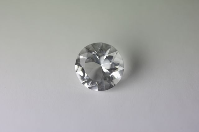 Rock crystal - Round 1.585 ct