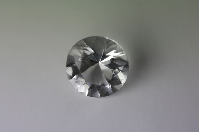 Rock crystal - Round 1.53 ct