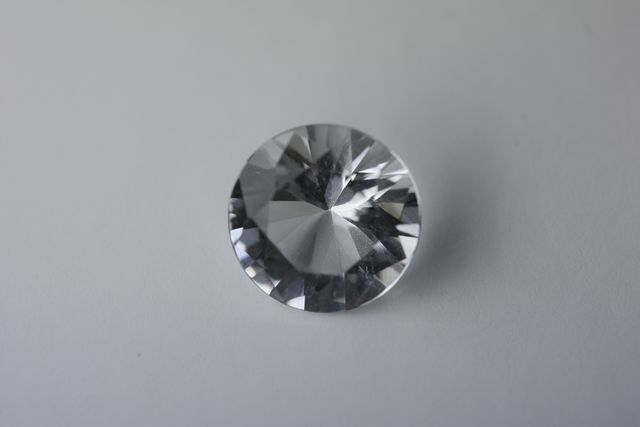 Rock crystal - Round 1.605 ct