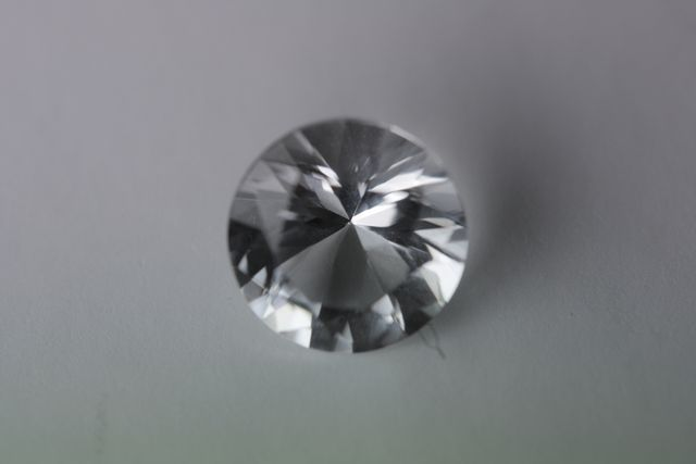 Rock crystal - Round 1.635 ct