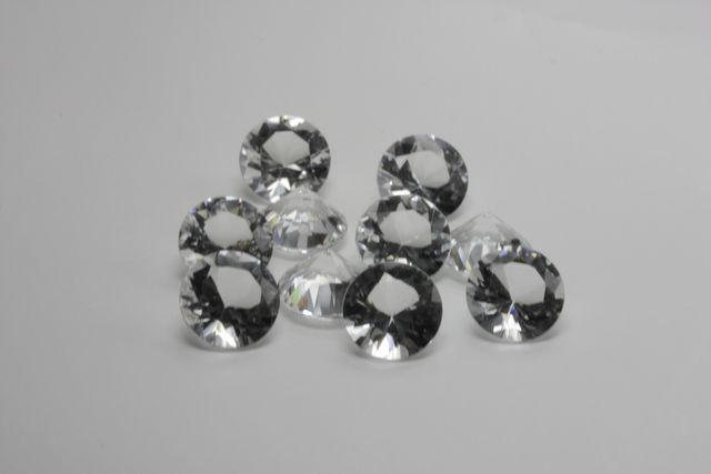 Rock crystal - Round 16.26 ct
