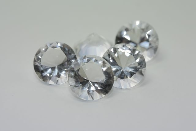 Rock crystal - Round 15.29 ct