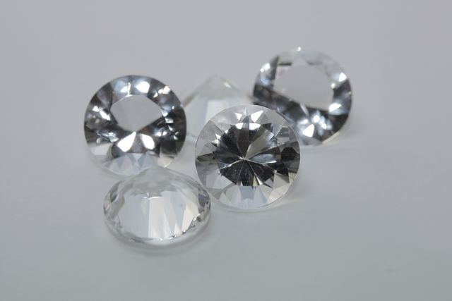 Rock crystal - Round 14.995 ct