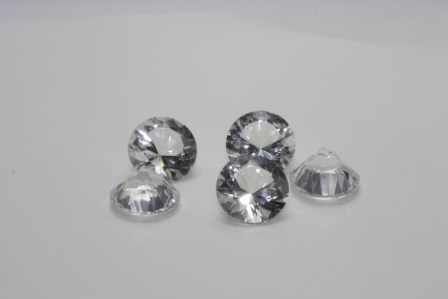 Rock crystal - Round 15.26 ct