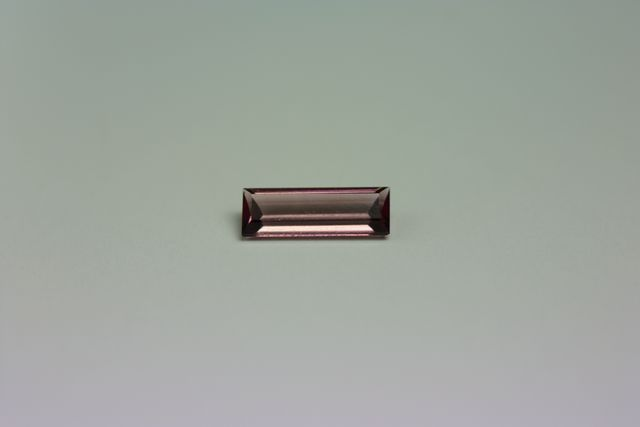 Rubellite tourmaline - Rectangle 0.465 ct
