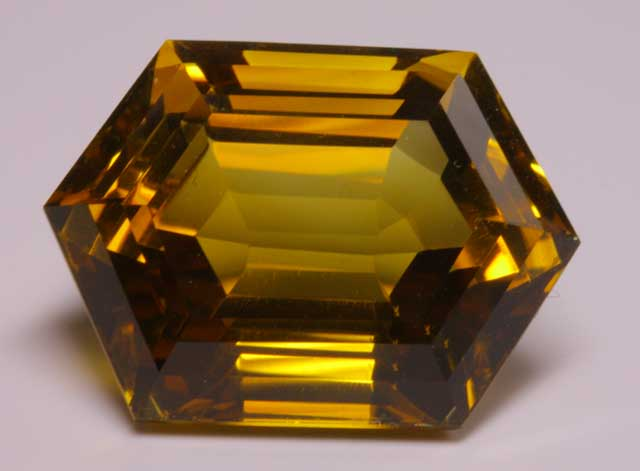 Citrine - Hexagonal- 33.238 ct
