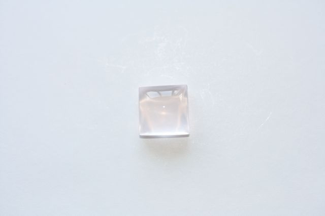 Quartz rose - Carré 3.18 ct