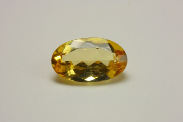 Imperial topaz - Oval 1.315 ct