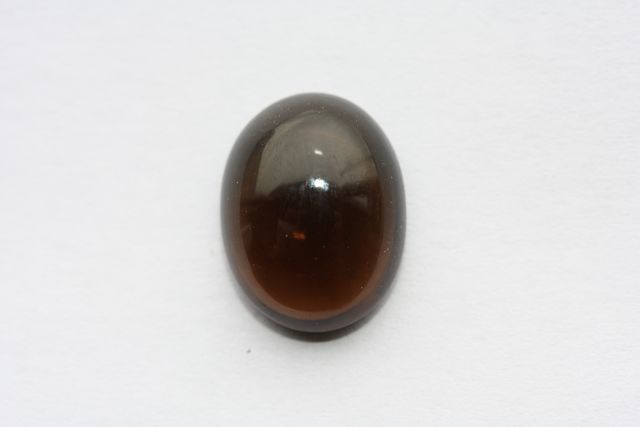 Deep cognac quartz - Oval 9.455 ct