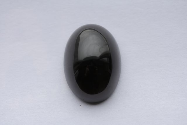 Morion quartz - Oval 36.29 ct