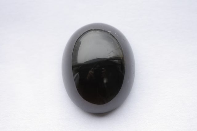 Morion quartz - Oval 56.485 ct