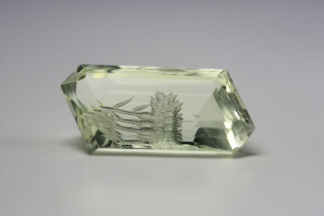 Heliodore beryl - 7.905 ct - Flower
