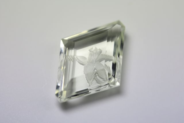 Heliodore beryl - 6.045 ct - Flower