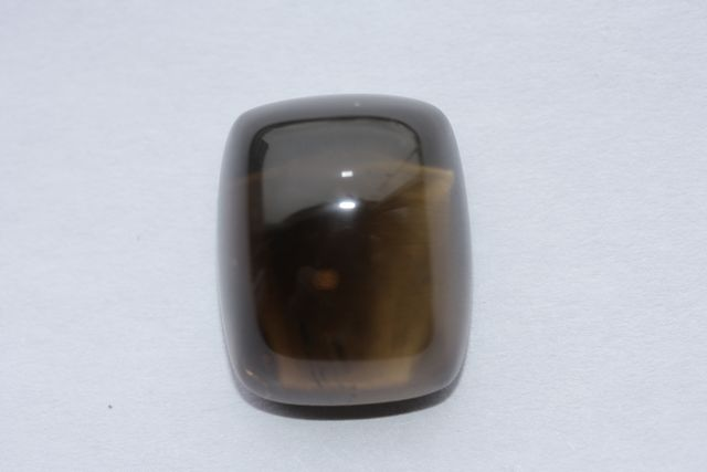 Deep cognac quartz - Rectangle 19.41 ct