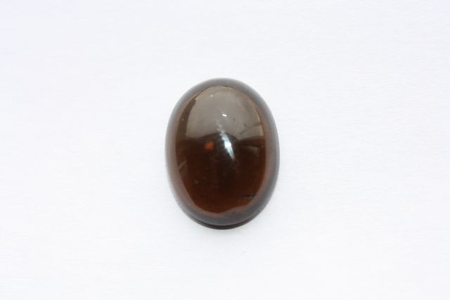 Deep cognac quartz - Oval 9.645 ct