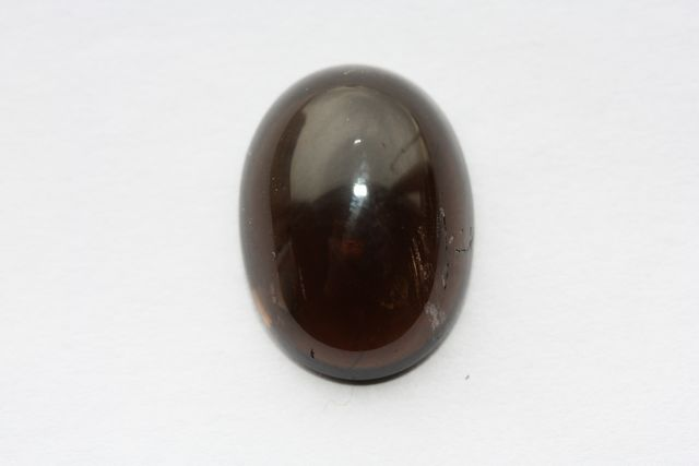 Deep cognac quartz - Oval 13.47 ct